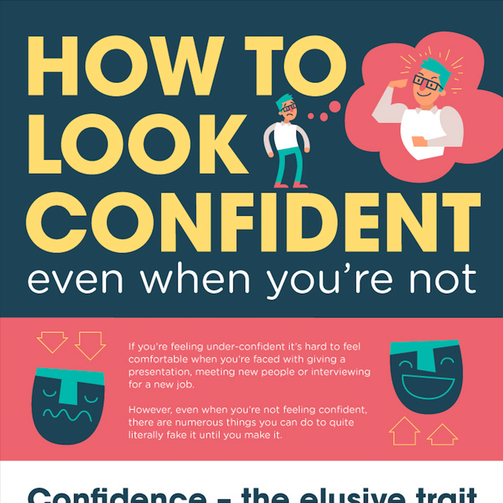 How to look confident even when you are feeling shy inside