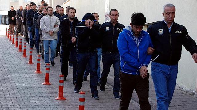 Detenciones masivas en Turquía a sospechoso de ser gulenistas