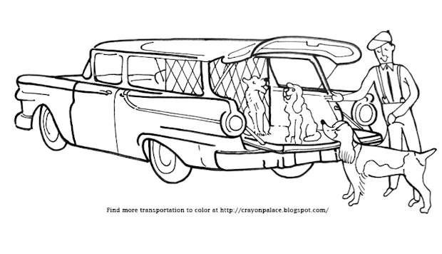 20  station wagon coloring pages ideas and designs