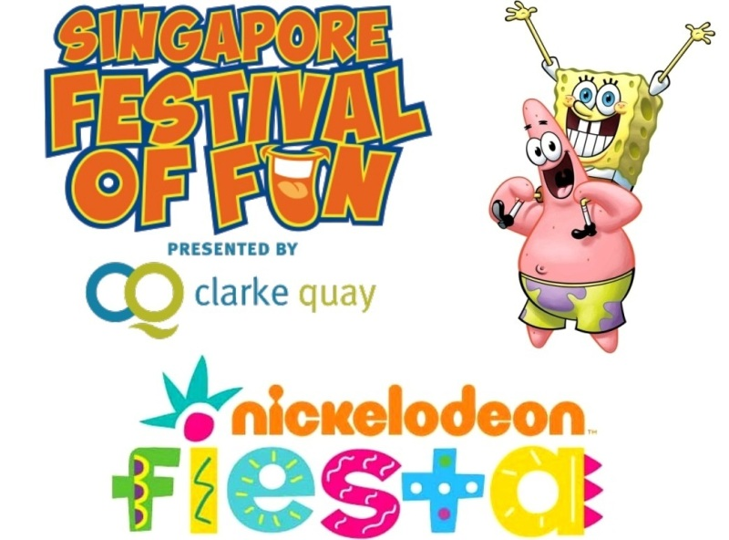 clarke quay singapore festival of fun nickelodeon fiesta