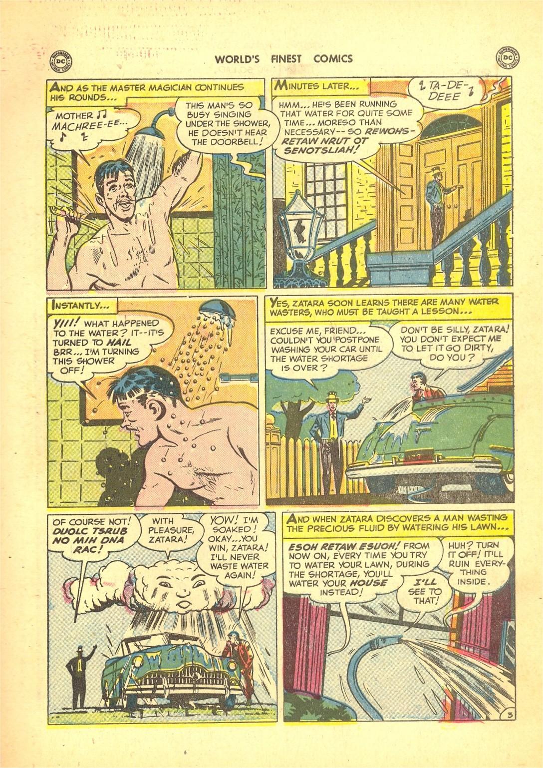Read online World's Finest Comics comic -  Issue #50 - 57