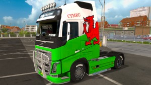 Volvo 2012 Welsh skin