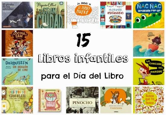 recomendación libros infantiles Dia del libro