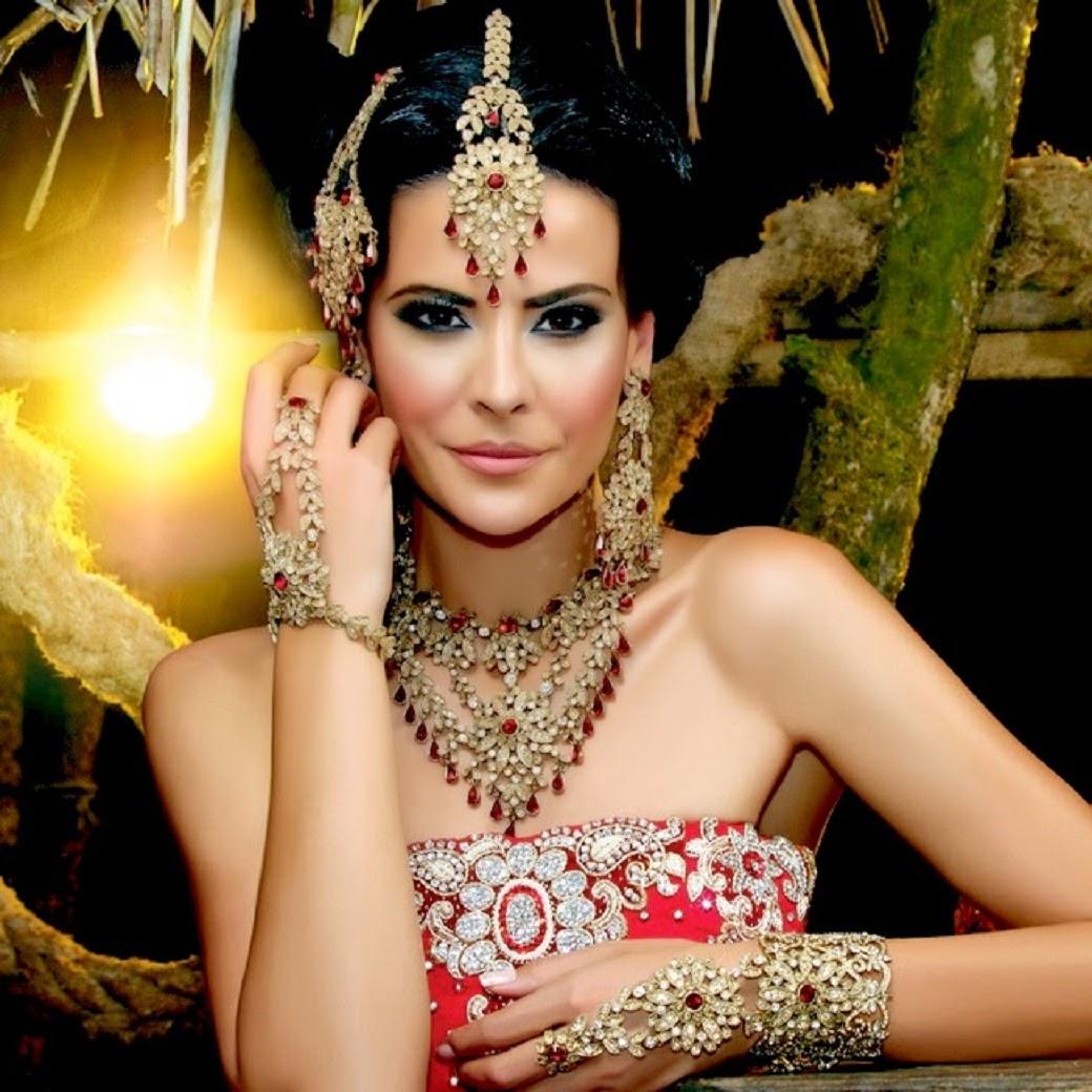 Indian Bridal Jewellery: Dynamic Views: Beautiful Indian Bridal Jewellery Set For