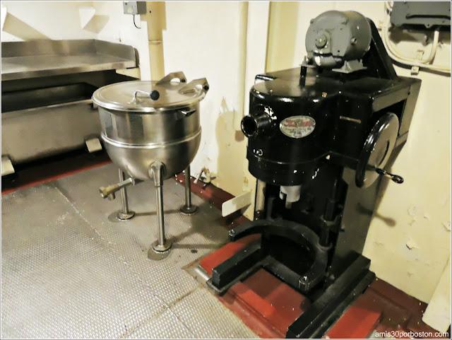 Pastelería del USS Massachusetts