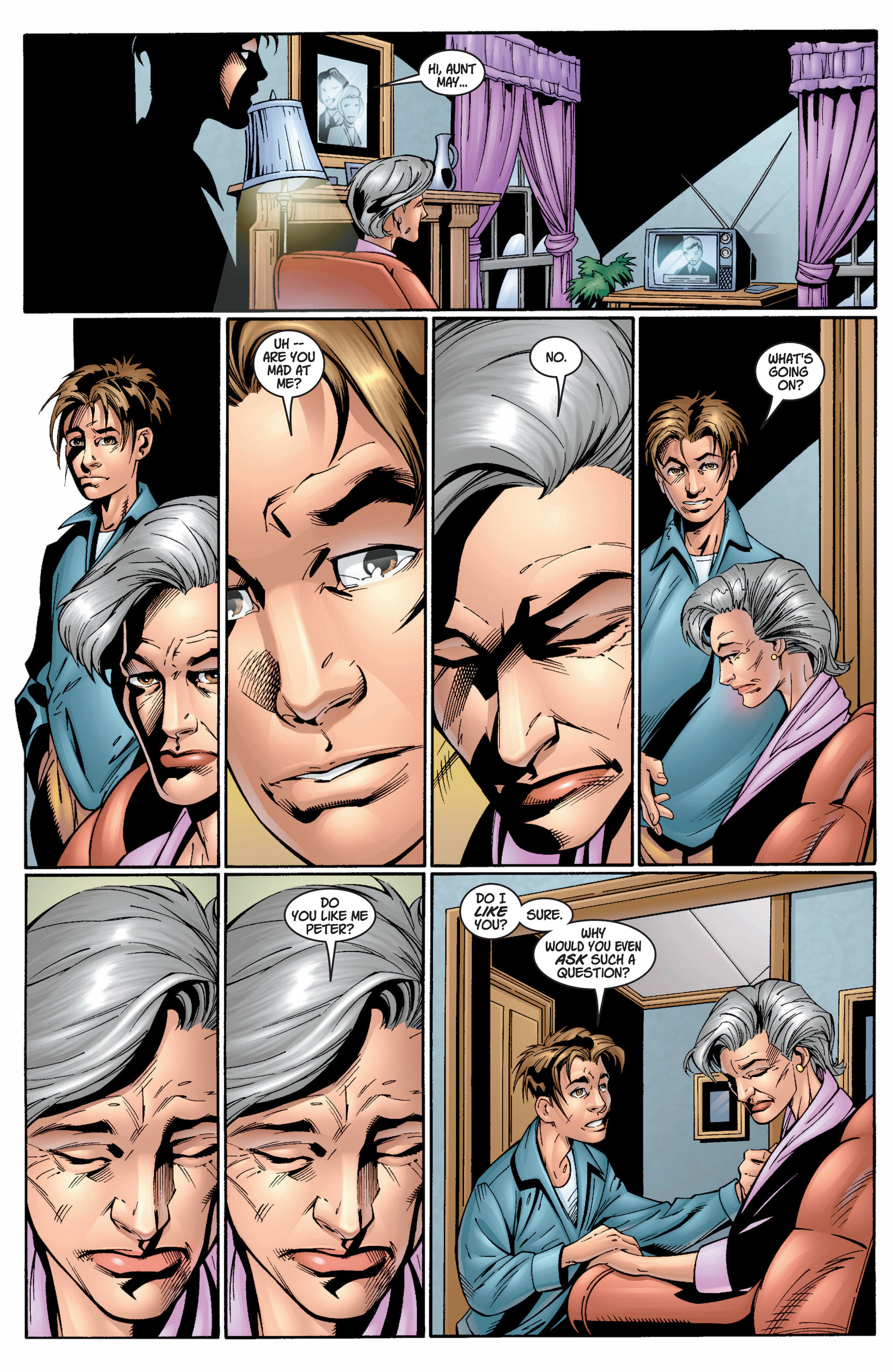 Read online Ultimate Spider-Man (2000) comic -  Issue #10 - 11