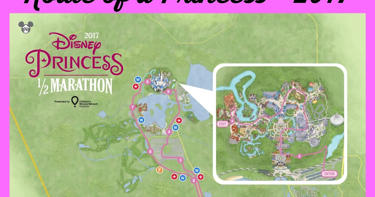 2017 Princess Half Course: A Route for a Princess Kessel RunnerThe on