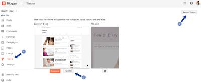 Verify blog in search console