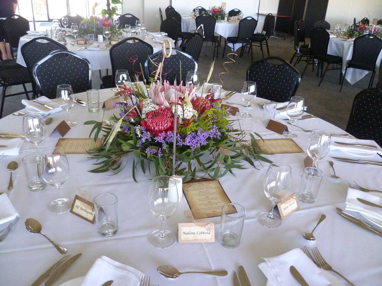 70th Birthday Table Decorations Ideas