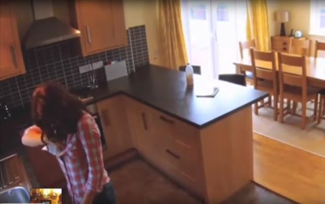 ΕΒΑΛΕ κρυφή κάμερα για να δεί τη κάνει μόνη της η καθαρίστρια και ΤΡΕΛΑΘΗΚΕ ! με αυτό που αντίκρισε.....
