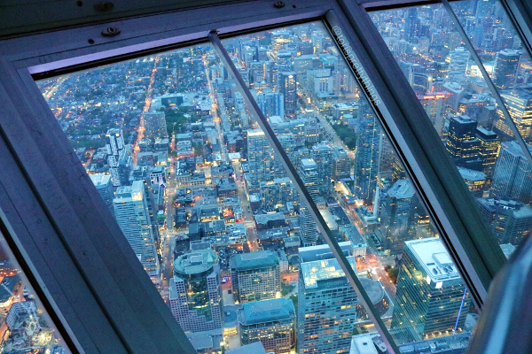 View from the CN Tower - Toronto - Tori's Pretty Things Blog