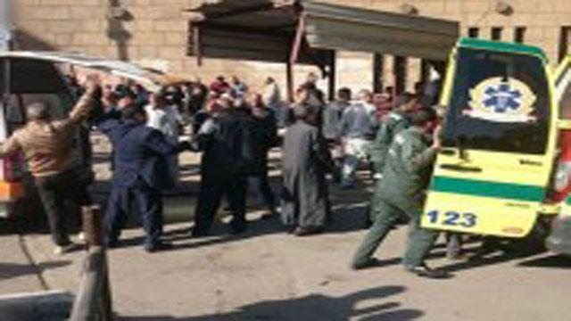 أرتفاع ضحايا انفجار محيط الكاتدرائية المرقسية بالعباسية  إلى20 قتيلا و35 مصابا