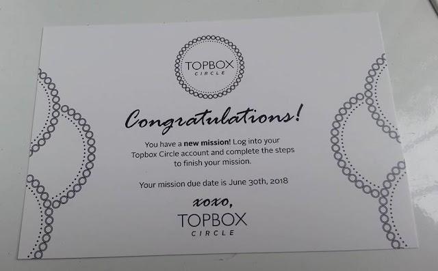 TOPBOX CIRCLE MISSION CARD