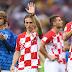 Modric fue el San Valentín de Croacia
