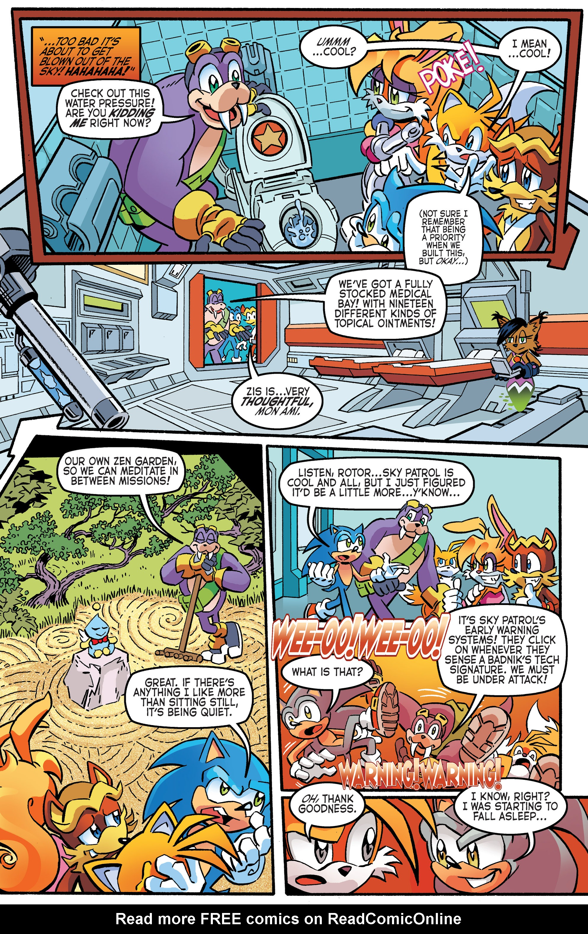 Read online Sonic The Hedgehog comic -  Issue #265 - 20