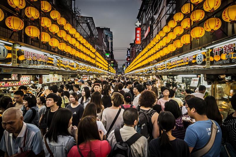 Đài Loan có mật độ dân cư dày