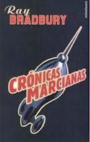 Libro Cronicas marcianas de Ray Bradbury