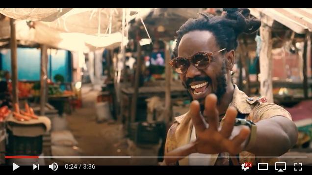 """O cantor de reggae moçambicano Ras Skunk!, lança o clipe """"Born in Africa"""""""