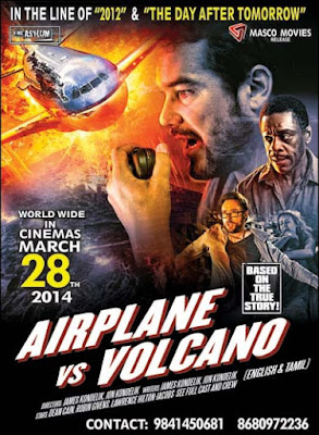 Airplane Vs Volcano 2014 Dual Audio Hindi 480p BluRay 300MB