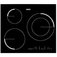 Zanussi - Placa de inducción ZEI6632FBA con 3 zonas Power