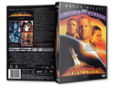 Capa DVD Armageddon