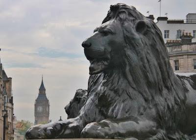 Visita a la Galería Nacional de Londres. Trafalgar Square