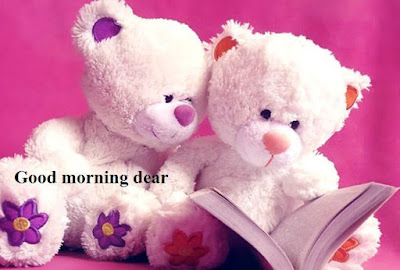 Good Morning Images of Teddy Bears - couples