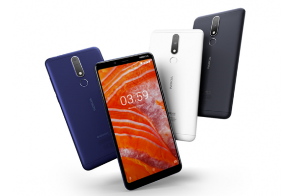 NOKIA 3.1 Plus with 6-inch HD+ display and MediaTek Helio P22 processor launched