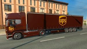 UPS pack skins for Scania R
