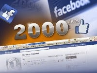 2000 facebook website likes