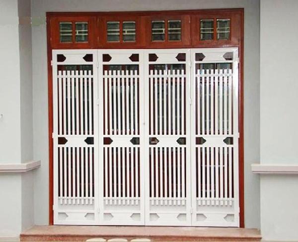 cửa sắt 4 cánh đẹp