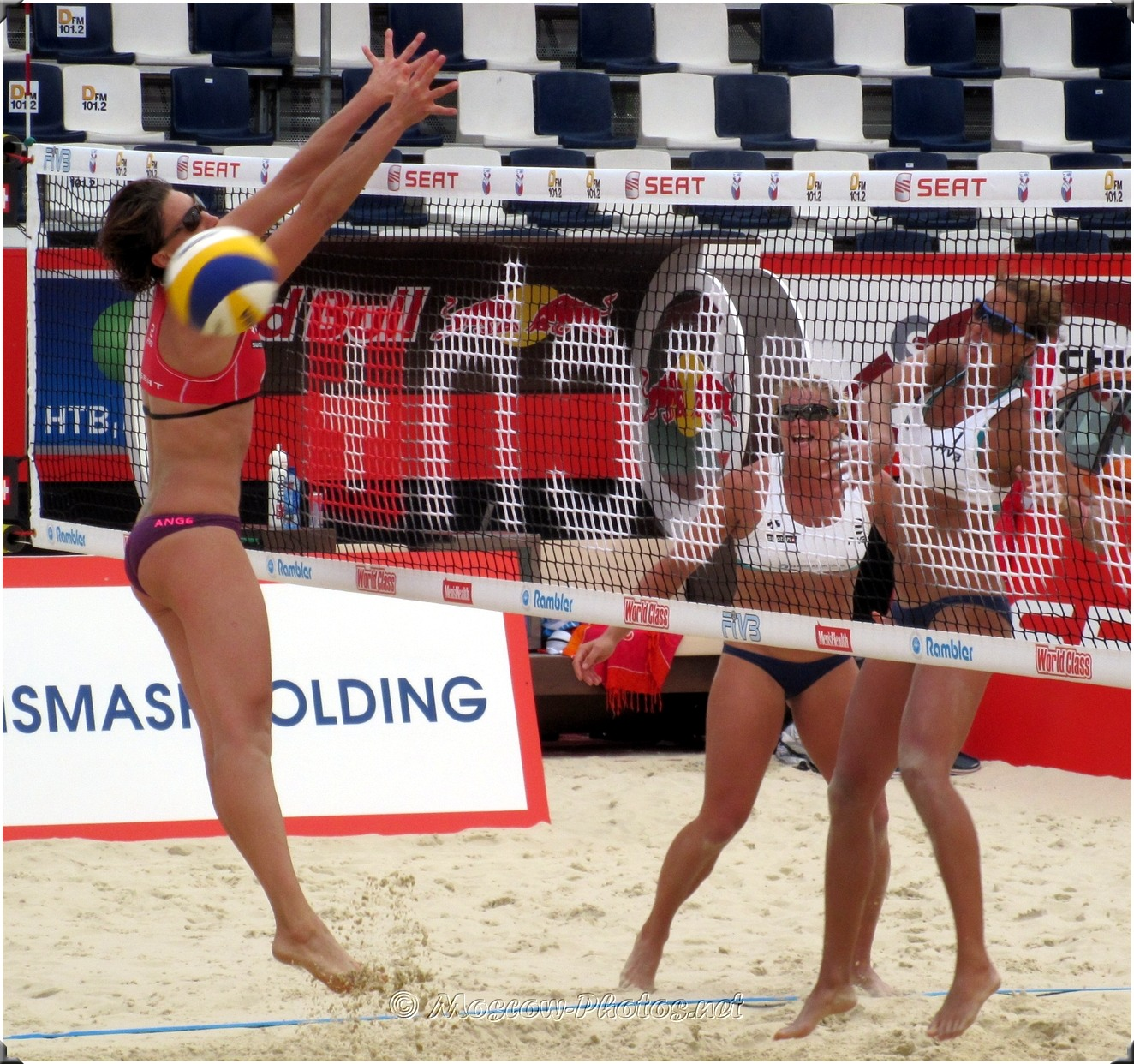 ATTACK COMBINATION   Beach Volleyball 2010