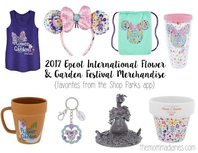 2017 Epcot International Flower & Garden Festival Merchandise