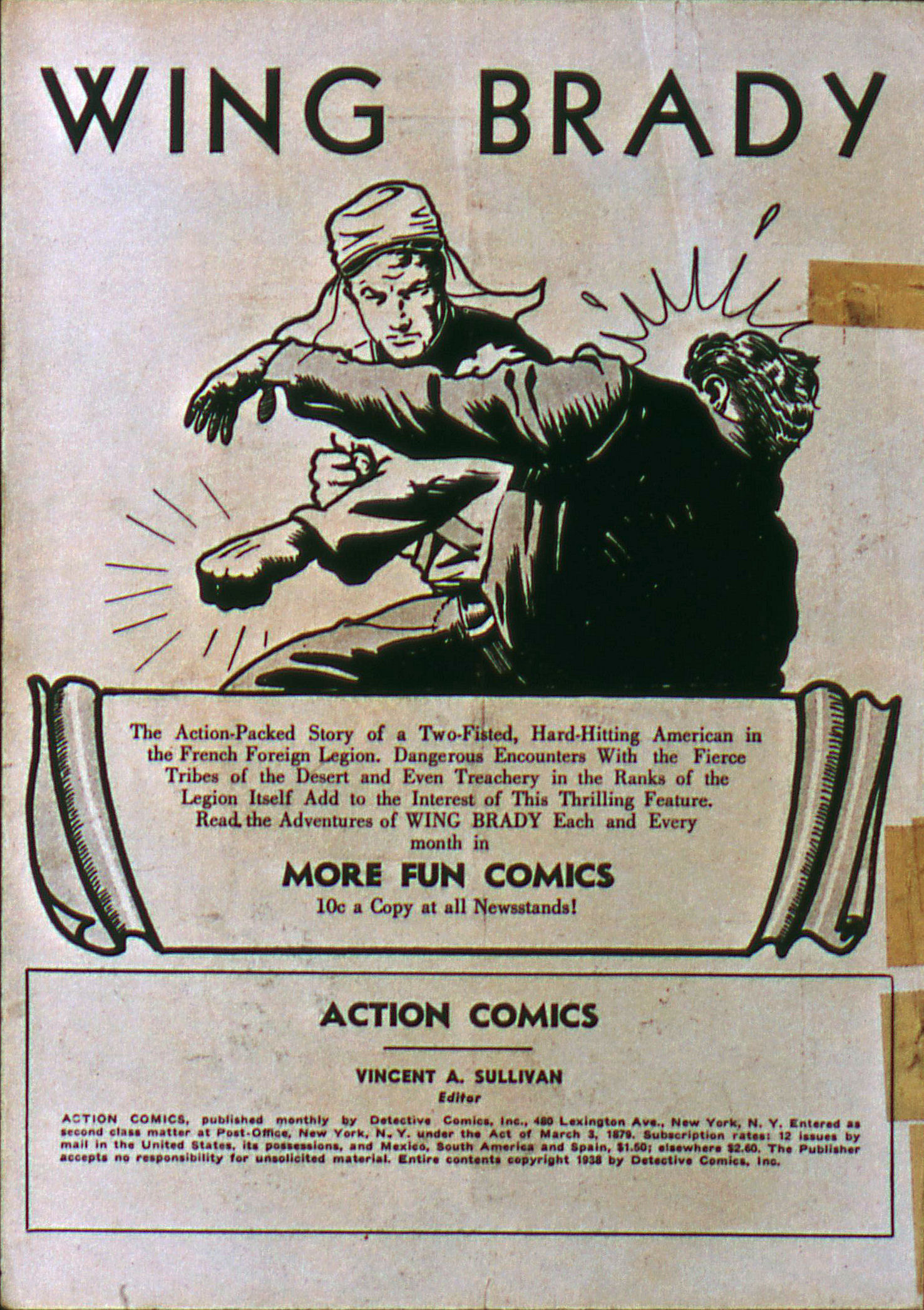 Action Comics (1938) 6 Page 2