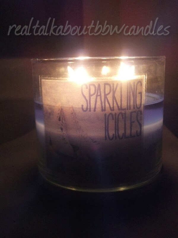Candle Spotlight Sparkling Icicles