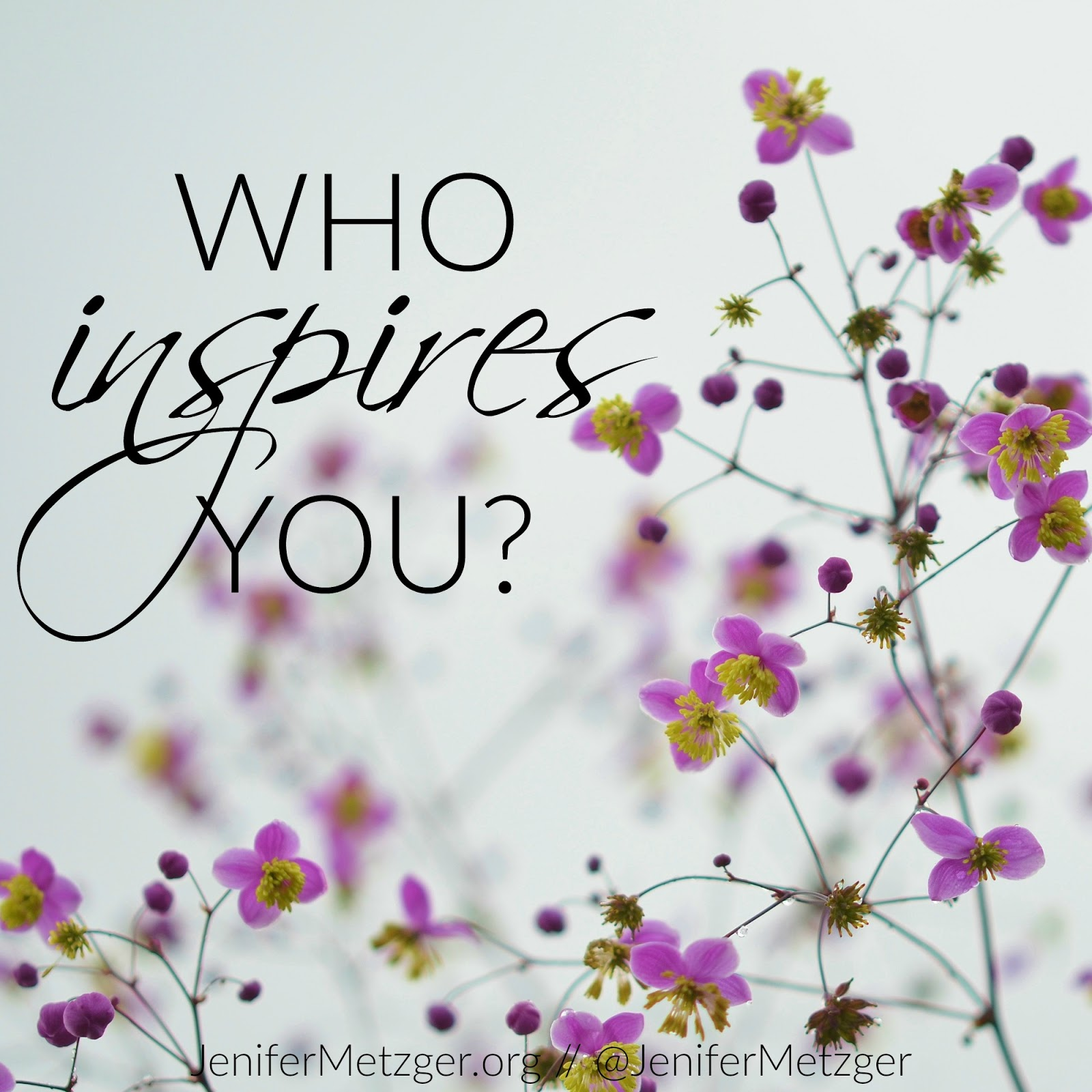 jenifer metzger who inspires you giveaway who inspires you who are you inspiring born this way on a e review and