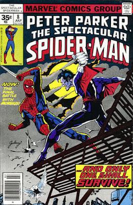 Spectacular Spider-Man #8, Morbius