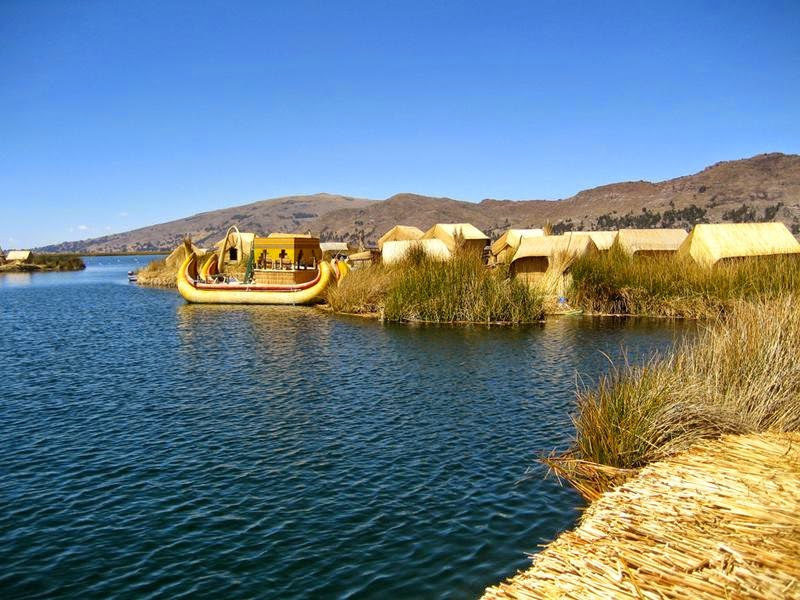 Lake Titicaca and the floating islands of Uros
