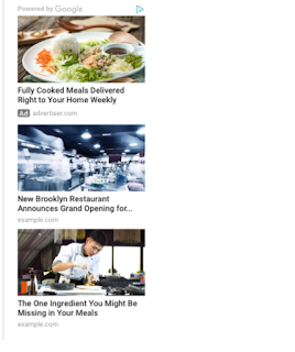 Fitur Baru Matched Content - Cara Membuat Iklan Matched Content Terbaru Google Adsense