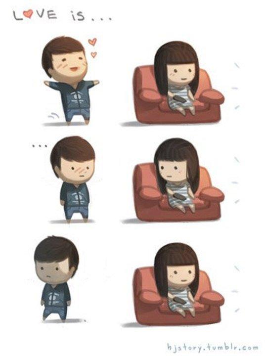 TREND FASHION KOREA TERBARU: Sweet Love - Korean Cartoon