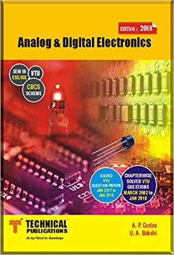 [PDF] Analog & Digital Electronics by U A Bakshi And A P Godse