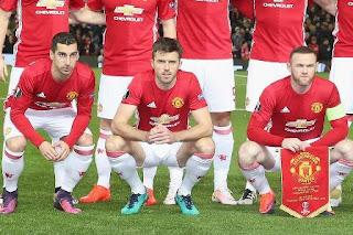 Daftar 18 Pemain Manchester United vs West Brom Sabtu 1 April 2017
