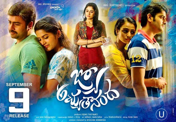 Jyo Achyutananda Telugu Movie Download HD 720p