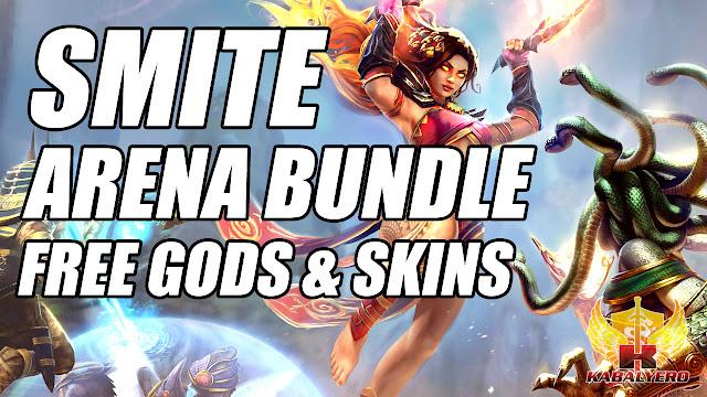 SMITE ARENA BUNDLE! Free Smite Gods! Free Smite Skins!