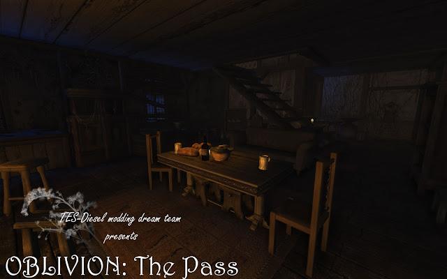 """Убежище """"Грозовой перевал"""" - дом для Oblivion от TES-Diesel"""