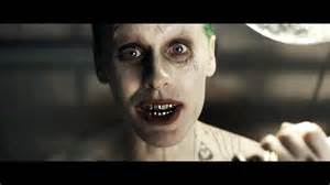 Jared Leto as a zombie looking Joker