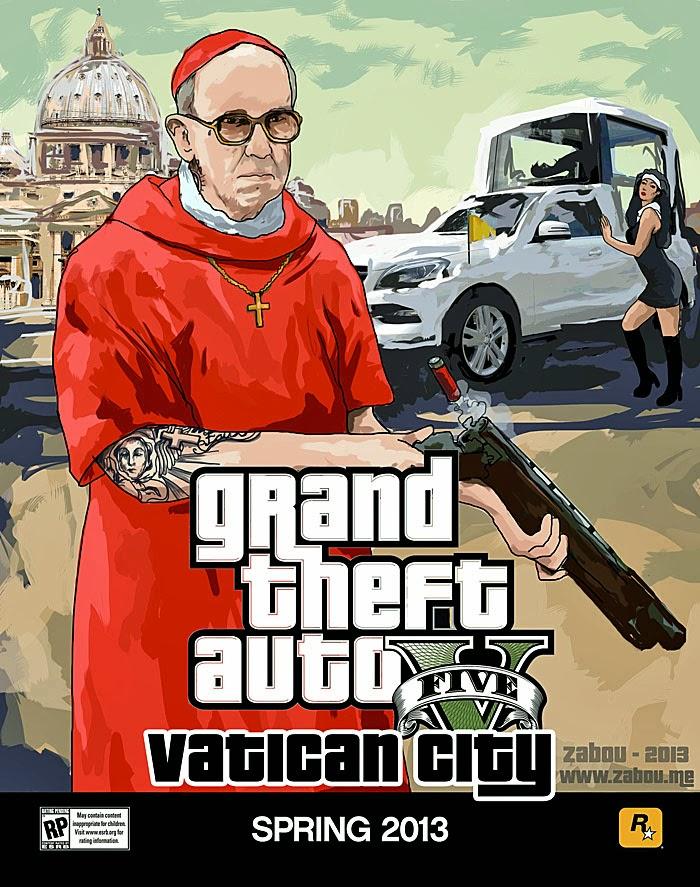 Papst Franziskus lustige Bilder zum lachen