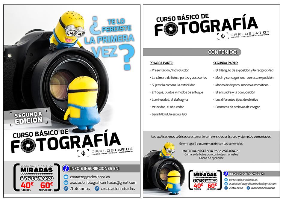 2º Curso Presencial Básico de Fotografía