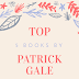 Top 5 books by Patrick Gale (according to me)
