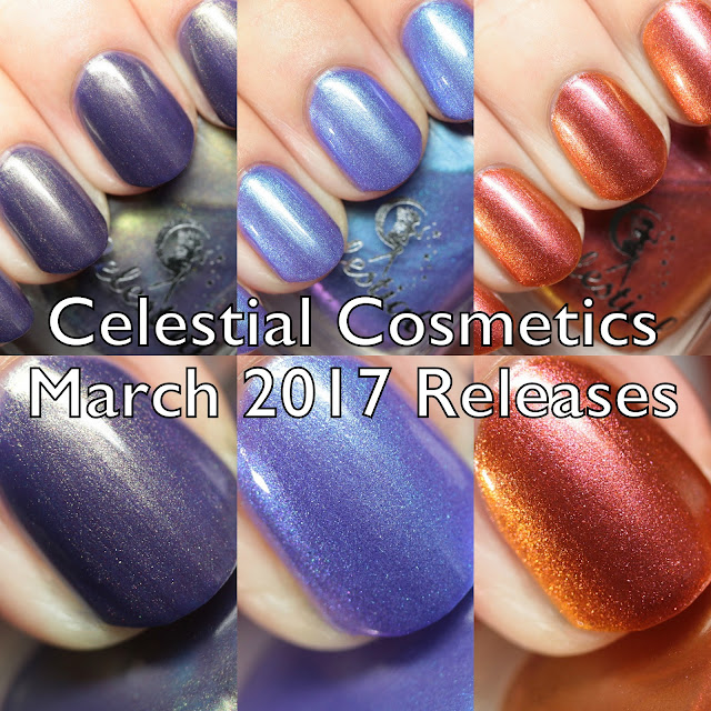 Celestial Cosmetics March 2017 Releases